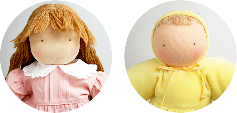 ウォルドルフ人形の画像