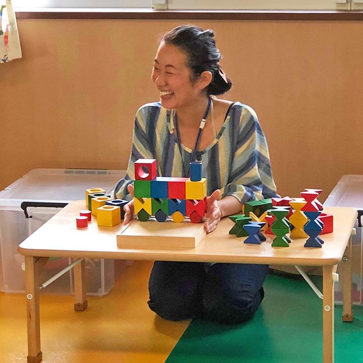 初めての積木講座島袋智子