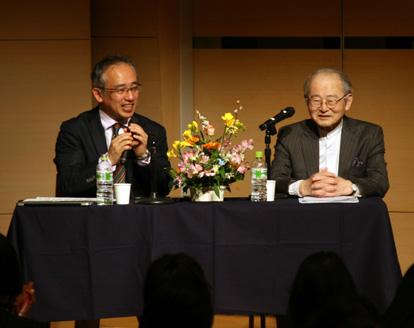 佐々木正美先生と藤田篤理事長