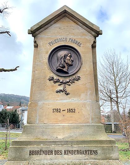 フリードリヒ・フレーベル記念碑