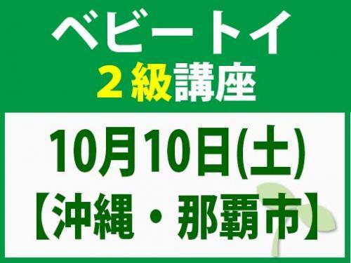 【沖縄・那覇市】10月10日(土) ベビートイ2級講座